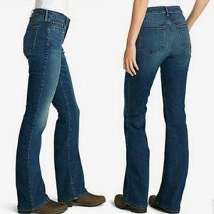 Eddie Bauer Women's Jeans Size 14 Short Boot Cut